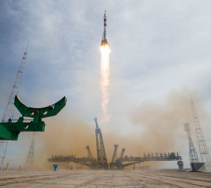 Expedition 51 Launch to the International Space Station #NASA #ImageoftheDay