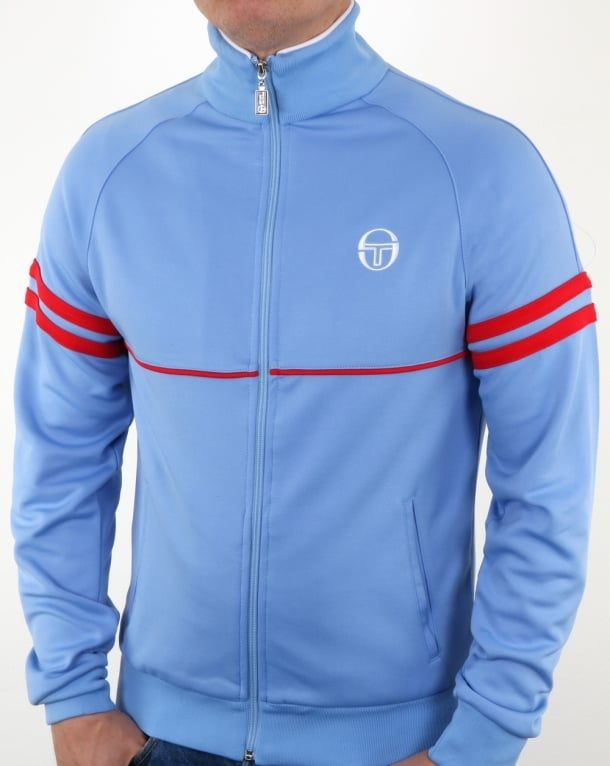 08193a53 Sergio Tacchini Star Track Top Sky Blue/Red,tracksuit,jacket,mens ...