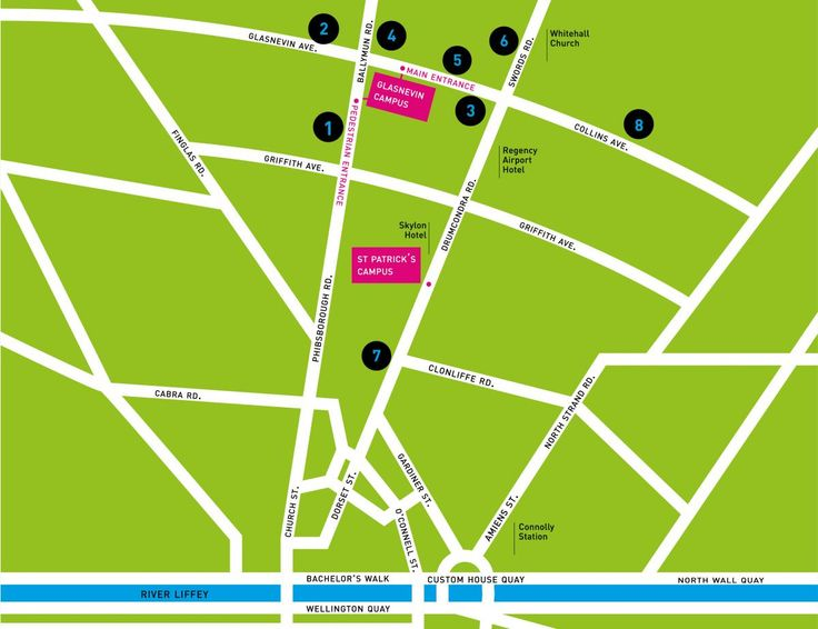 Bus Routes to DCU
