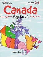 Canada Map Book 1 - Grades 2-3 - Northwoods Press