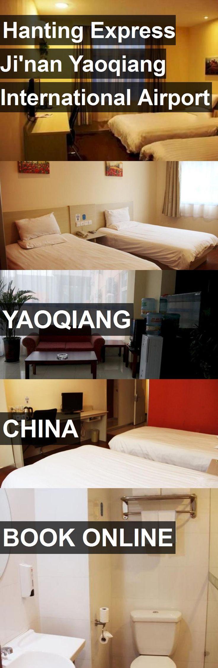 Hotel Hanting Express Ji'nan Yaoqiang International Airport in Yaoqiang, China. For more information, photos, reviews and best prices please follow the link. #China #Yaoqiang #travel #vacation #hotel