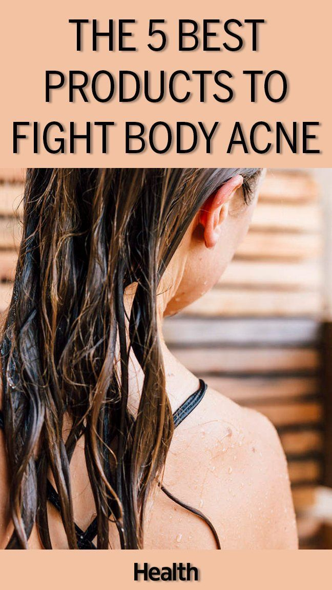The 5 Best Products to Fight Body Acne Body acne