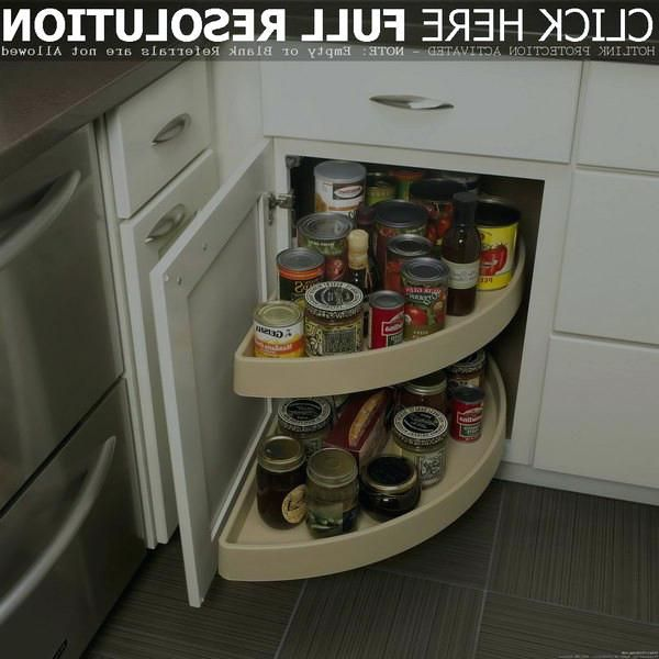 Casual Kitchen Cabinet Carousels