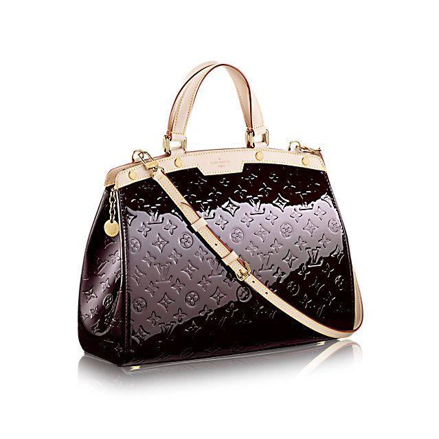 Brea GM - Monogram Vernis - Handbags   LOUIS VUITTON