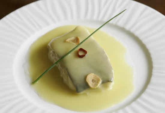 Receta de bacalao con salsa cremosa de limón | Cantabria | Spain