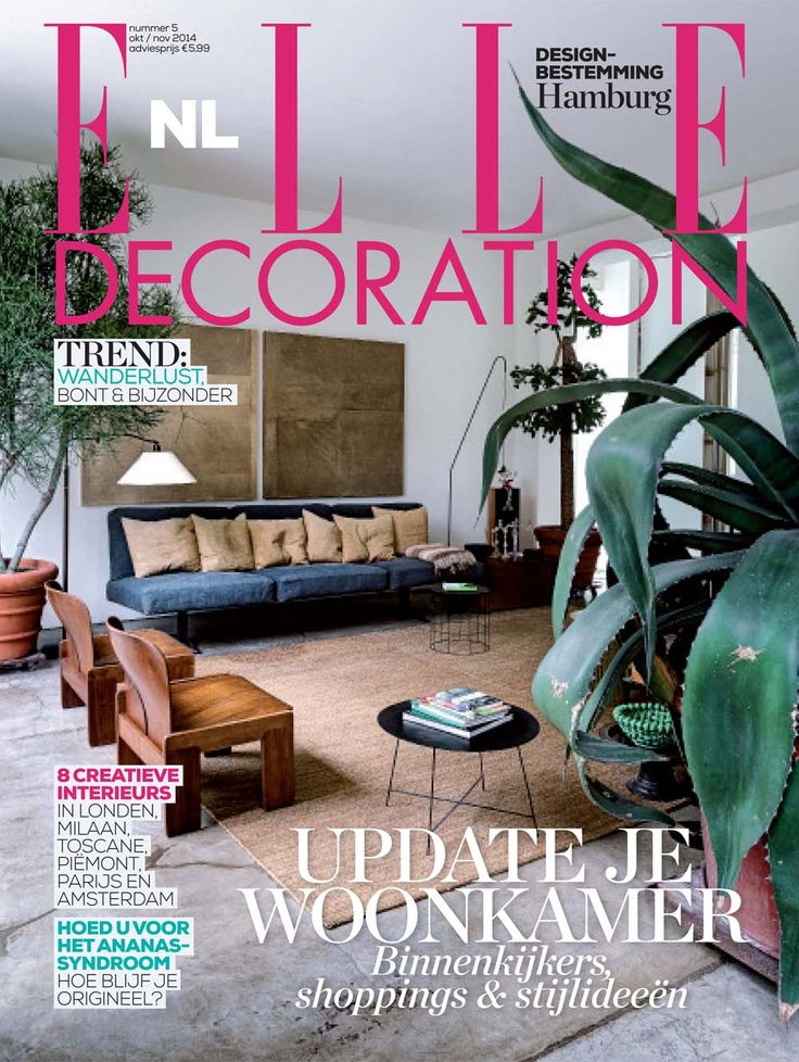 Cover 5 - 2014 | ELLE Decoration NL