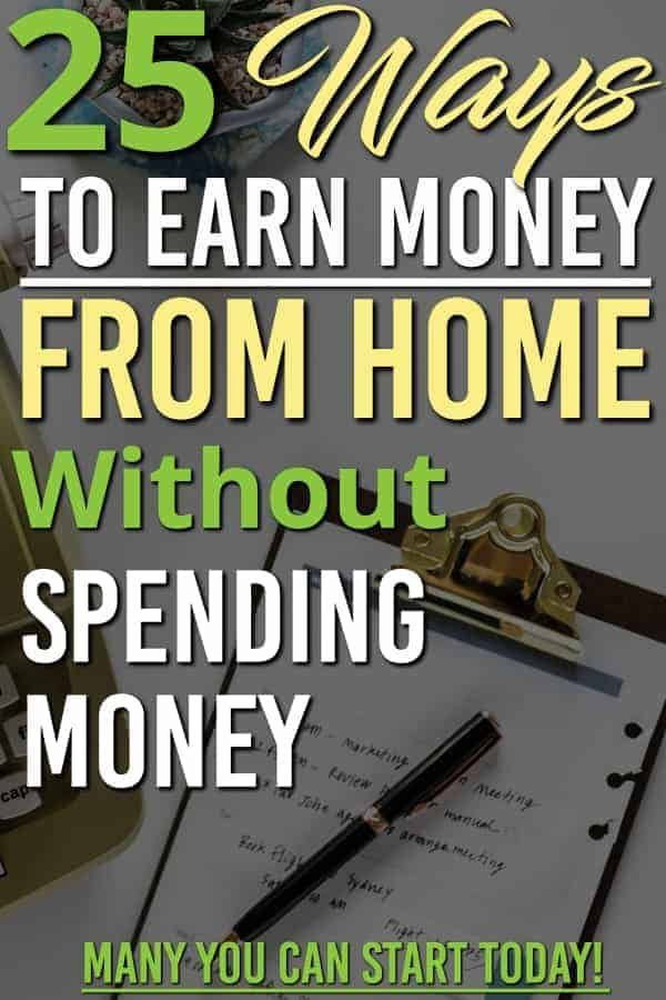 How to Earn Money from Home Without Any Investment | Make