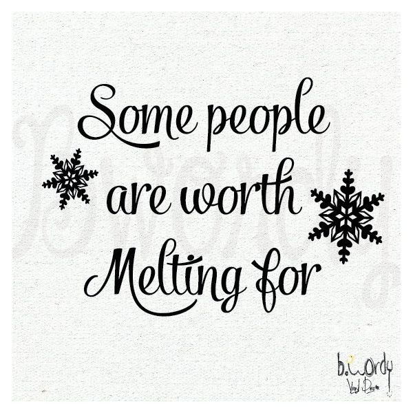 Frozen Inspired, Some people are worth melting for, Vinyl Decal- Wall... ($12) ❤ liked on Polyvore featuring home, home decor, wall art, quotes, phrase, saying, text, movie wall art, vinyl decal sticker and vinyl lettering wall art