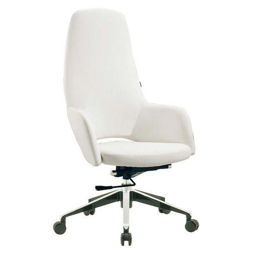 White Desk Chair Armless Style Banker Wood Swivel Task Office Ebay