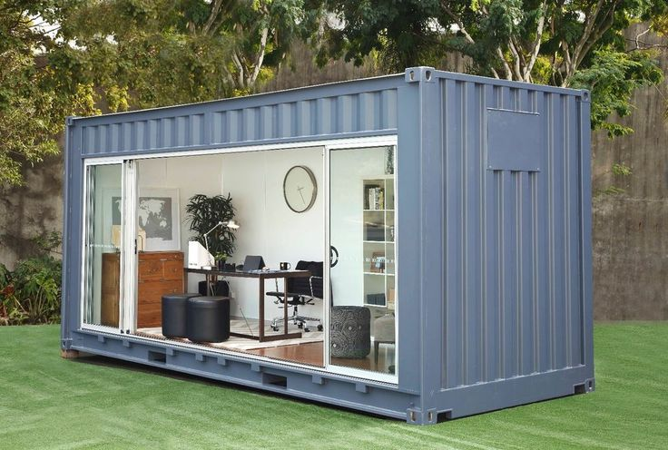 20FT CUSTOM SHIPPING CONTAINER CABIN in Business & Industrial, MRO & Industrial Supply, Material Handling | eBay