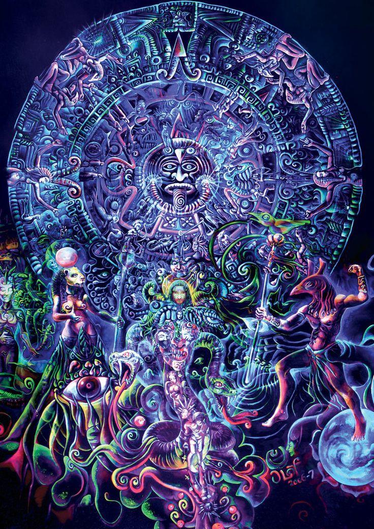 Wicked! #visionaryart #art #beautiful #visual #trippy #psychedelic #sacred