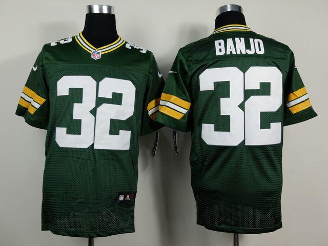 Green Bay Packers #32 Chris Banjo Green