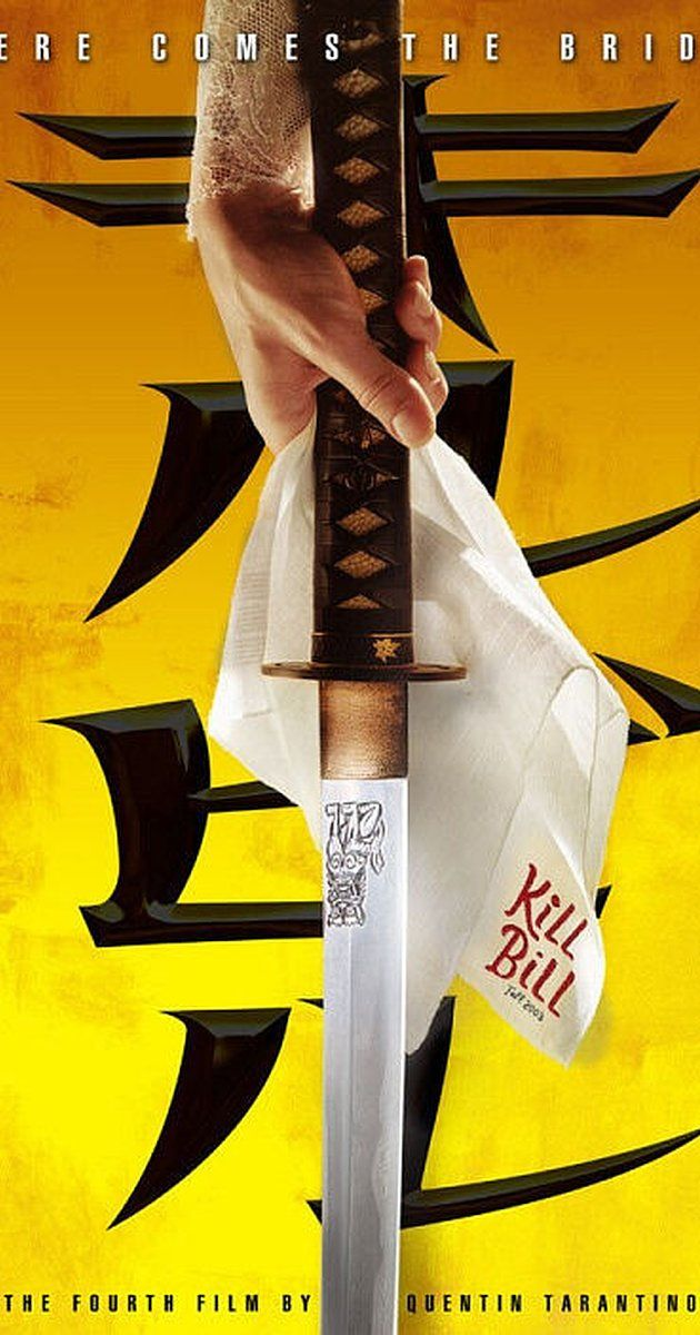 Directed by Quentin Tarantino.  With Uma Thurman, David Carradine, Daryl Hannah, Michael Madsen. The Bride wakens from a four-year coma. The child she carried in her womb is gone. Now she must wreak vengeance on the team of assassins who betrayed her - a team she was once part of.