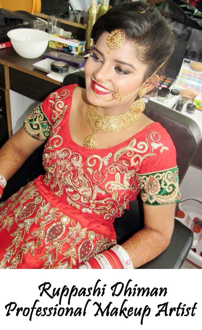 Costume, hair and makeup can tell you instantly, or at least give you a larger perception of who a character is. It's the first impression that you have of the character before they open their mouth, so it really does establish who they are  Make Up by Ruppashi Dhiman Hair And Makeup Artist For Booking Call us @ 076967 87949  #makeup #artist #Wedding #Bride #Bridal #Ruppashi #Dhiman #ruppashidhiman #fashion #panchkula #mohali #punjab #delhi #work