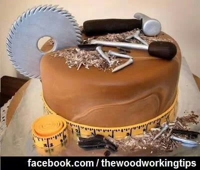22 Best Images About Woodworking Cakes On Pinterest