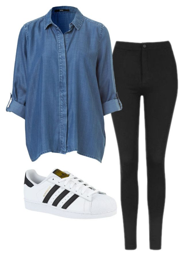 """Untitled #191"" by coffee-zzzz on Polyvore featuring Topshop and adidas"