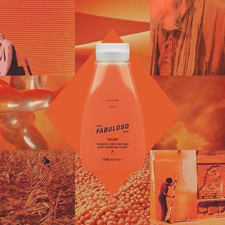 #fabprocombo fruit tingle - head turner. -salon: 3.5g orange and 1.5g red 15g conditioner base -retail: 11g orange 4g red 5g conditioner base #evohair #fabpro