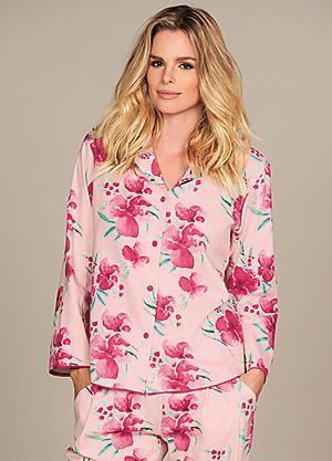 Cyberjammies South Pacific Floral Print Pyjama Top #kaleidoscope #nightwear