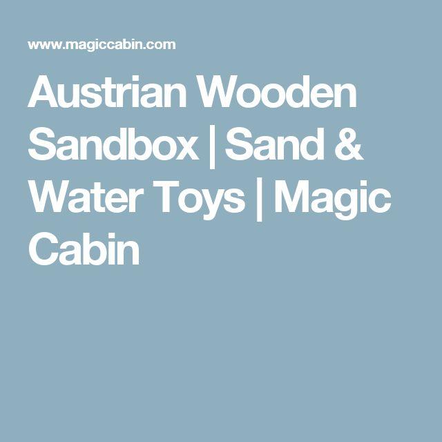 Best 25 wooden sandbox ideas on pinterest diy playhouse for Magic cabin tree fort kit