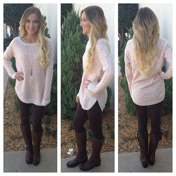 Black Sweater Tunic