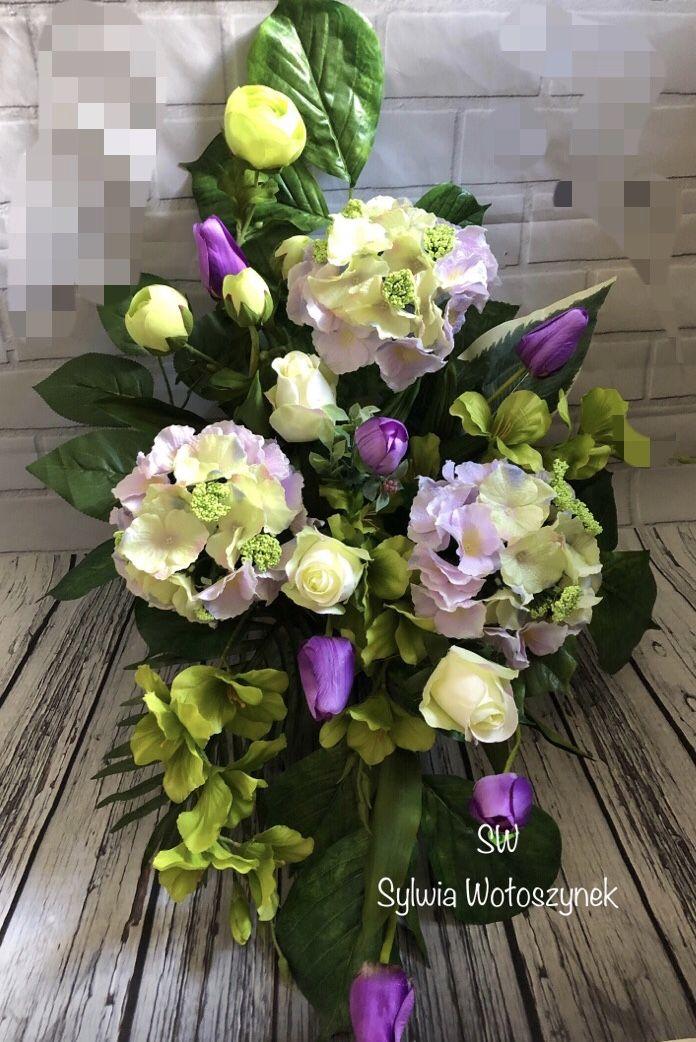 Kompozycja Nagrobna Wiosna 2019 Wyk Sylwia Woloszynek Flower Arrangements Floral Arrangements Funeral Flowers