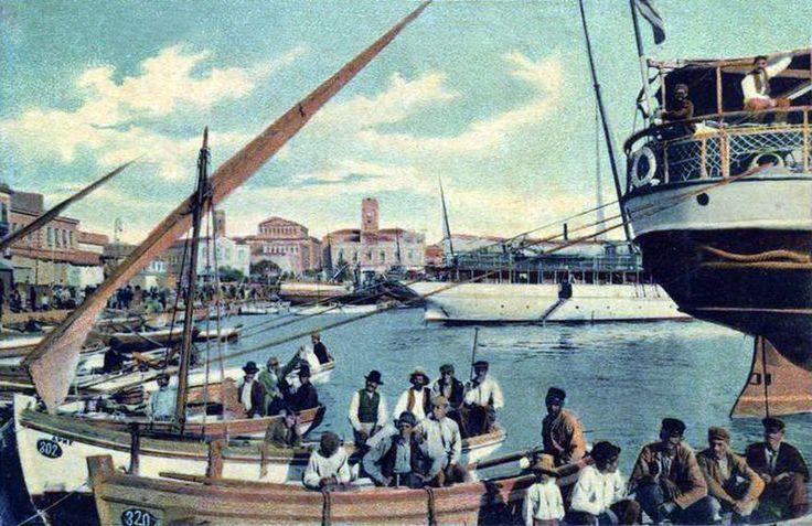 Πειραιάς, αρχές 20ου αιώνα, Ακτή Τζελέπη.