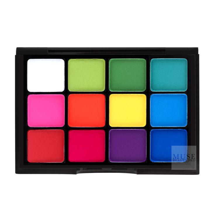 Shop Viseart Eyeshadow Palette: Editorial Matte | Professional Eye Makeup | Muse Beauty.Pro