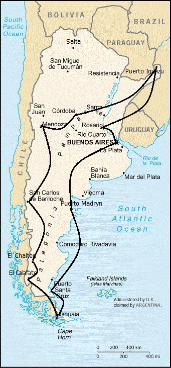 Argentina is such a huge country that travelling by bus becomes a huge challenge. However, the buses in the country are the best in all of South America and are still relatively cheap. There are fairly good prices on flights in the country as long as you book well in advance. In fact, if you...