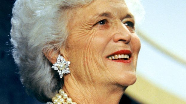 Barbara Bush Turns 92 See Her and More First Ladies' Inaugural Gowns