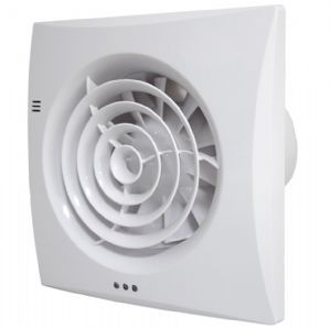 Bathroom Extractor Fan with Humidistat & Timer. Zone 1 Bathroom Fan