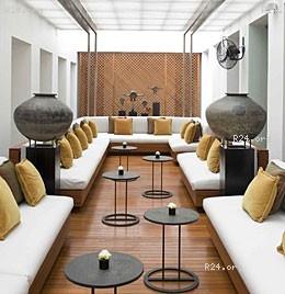 Hotel Lobby Lounge Look