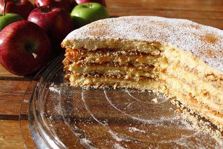 Μηλόπιτα Napoleon - Συνταγές   γλυκές ιστορίες