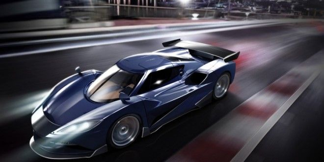 "Arash AF10 Hybrid Supercar Boasts 2,080 HP ""Warp Drive"""