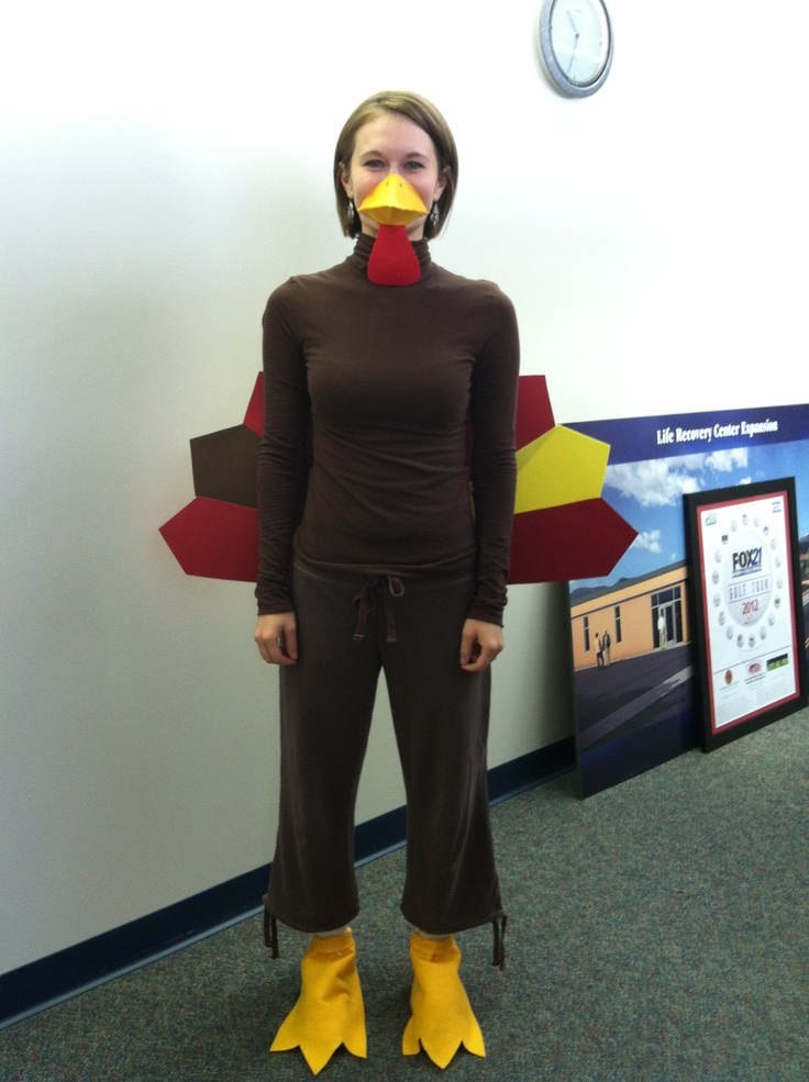 """Do you need help with your Turkey Costume for """"The Gobble Gobble Turkey Wobble"""" on Saturday? Check out https://www.facebook.com/springsrescuemission for easy instruction on how to make a Turkey Costume! Love you Brooke !!! So creative !"""