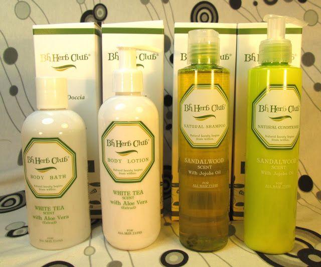 BH Herb Club cosmetici con principi attivi naturali per il benessere di corpo e capelli