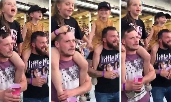Μπαμπάδες χορεύουν έχοντας τις κόρες τους στους ώμους και τρελαίνουν το διαδίκτυο
