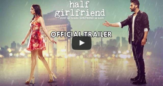 Dost Se Zyada, Girlfriend Se Kam. Presenting the official trailer of Half Girlfriend ft. Arjun Kapoor & Shraddha Kapoor. Releasing on 19 May 2017.  Balaji Motion Pictures, Chetan Bhagat, Mohit Suri