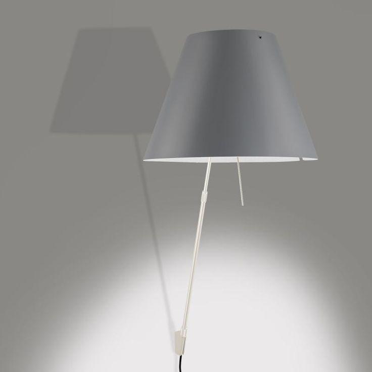 luceplan costanzina wandleuchte mit ein aus schalter licht pinterest schalter preis und. Black Bedroom Furniture Sets. Home Design Ideas