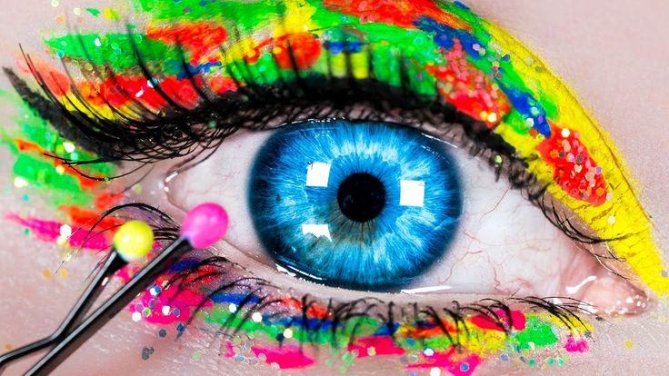 DIY Makeup Hacks! Makeup Tutorial with 10 DIY Makeup Life Hacks for Begi...