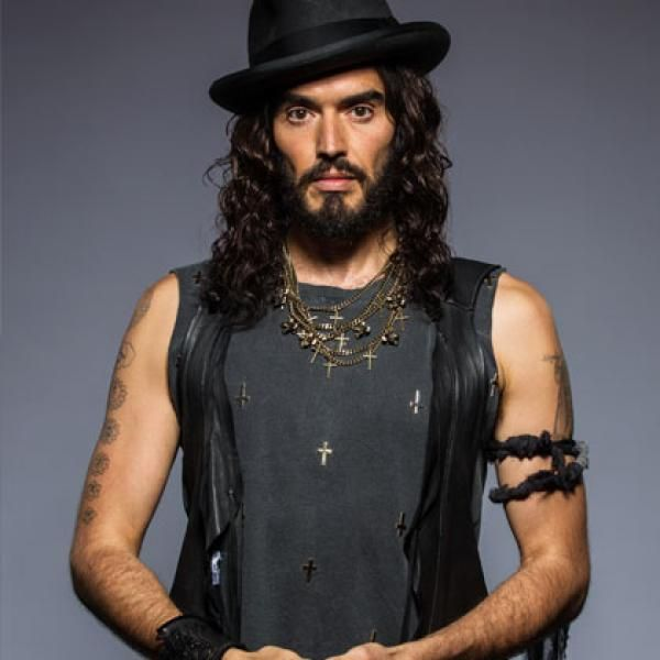Russell Brand has been a vegetarian since age 14 and became vegan in 2011 after watching the documentary Forks Over Knives