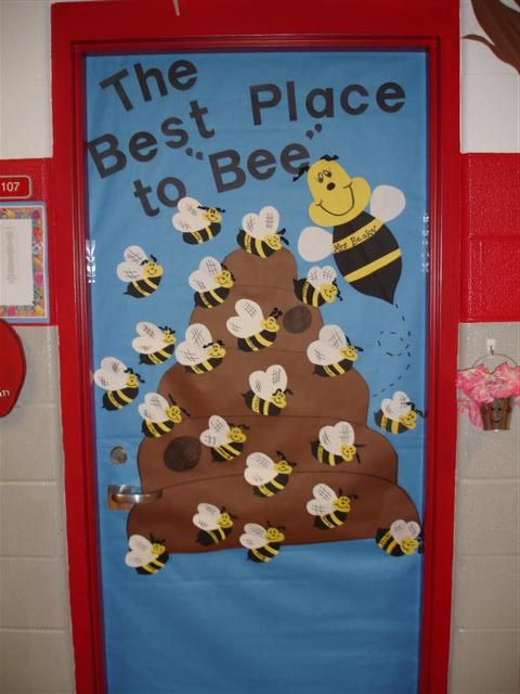 25 best ideas about school door decorations on pinterest for Baby classroom decoration
