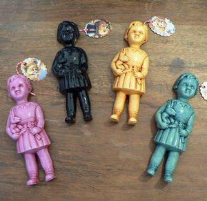 Clonette Doll Wall Plaque - 4 Colours $40 each