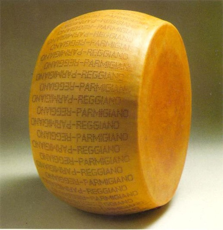 Parmigiano-Reggiano....the KING of cheese! If I were stranded on a desert Island with only 1 cheese, this would be it!