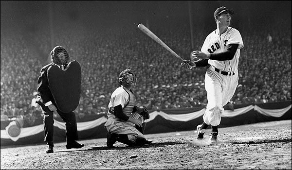 Ted Williams. Lifetime batting avg.,.406. This after spending WW2, and Korea as a Marine fighter pilot.