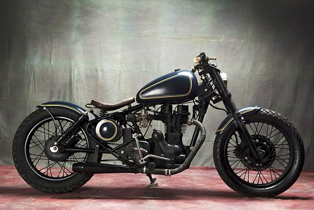 '03 Royal Enfield Electra – Bull City Customs