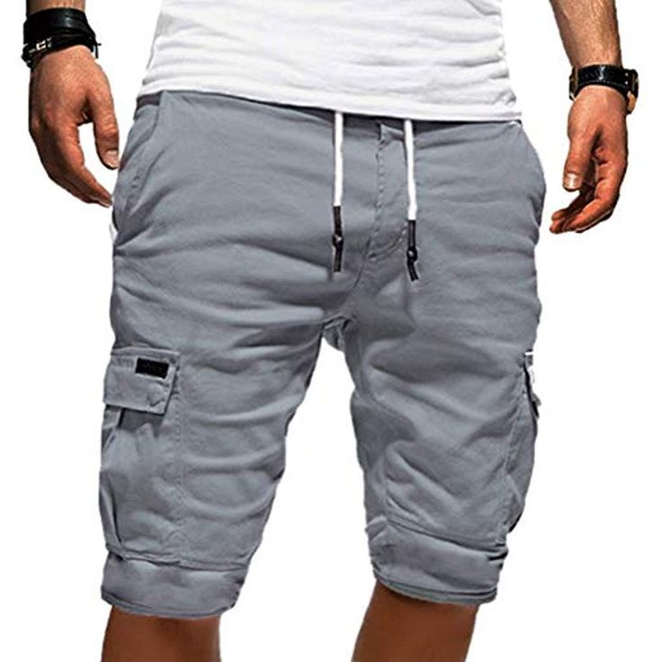 Onsoyours Herren Cargo Hose Shorts Sommer Freizeit Bermuda Kurze Hose Chino Trai Casual Shorts Men Mens Shorts Men Casual