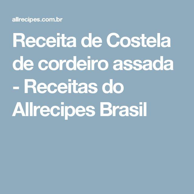 Receita de Costela de cordeiro assada - Receitas do Allrecipes Brasil