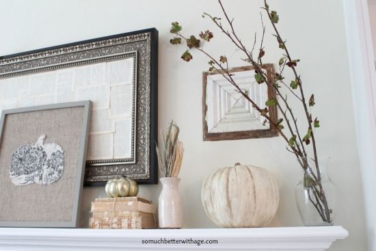 How to create beautiful vintage style pumpkins with Chalk Paint® decorative paint by Annie Sloan | By So Much Better with Age