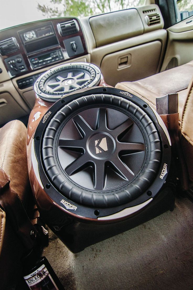 45 best truck speakers boxes and interiors images on pinterest 2006 ford f 250 with custom sub center console photo 2 sciox Image collections