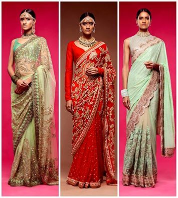 Which Saree for your Roka?  Dark or Light Color.